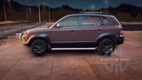 Hyundai Tucson pour Spin Tires