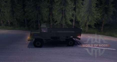 Tatra 128 FULL pour Spin Tires
