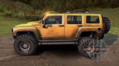 Hummer H3 für Spin Tires