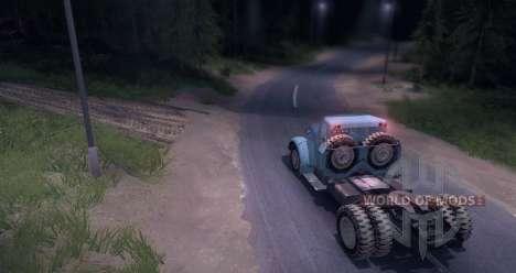 MAZ 200V für Spin Tires