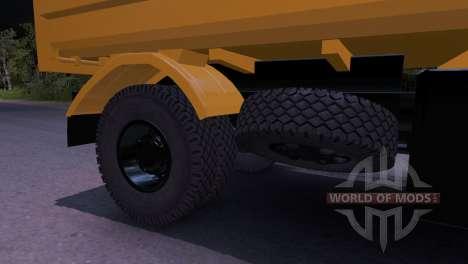 MAZ-5551 für Spin Tires