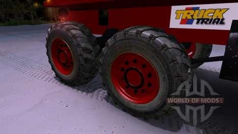 Praga V3S Truck Trial für Spin Tires