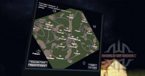 Karte des Waldes für Spin Tires