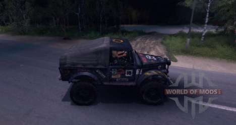 Gaz-69 Offroad Edition v1.1 pour Spin Tires