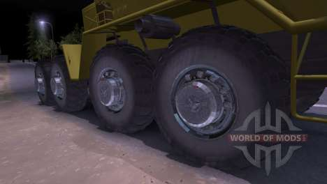 MAZ-537 pour Spin Tires