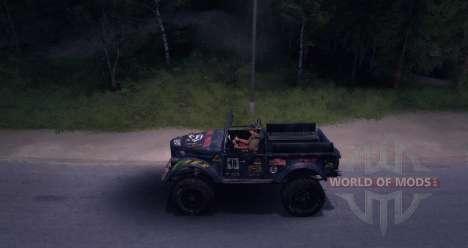 GAZ-69 Off Road Edition für Spin Tires