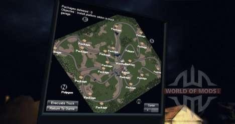 Carte de la forêt 2 pour Spin Tires