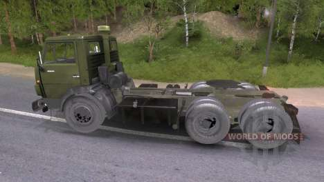 KAMAZ-54101 für Spin Tires