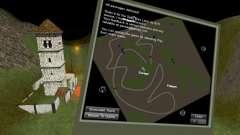 Karte von StonesMine für Spin Tires