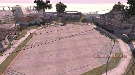 Grove street - map für BeamNG Drive