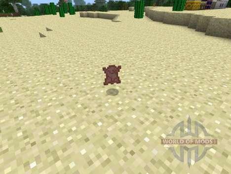Encore un Autre de Cuir pour la Fonte chair pour pour Minecraft