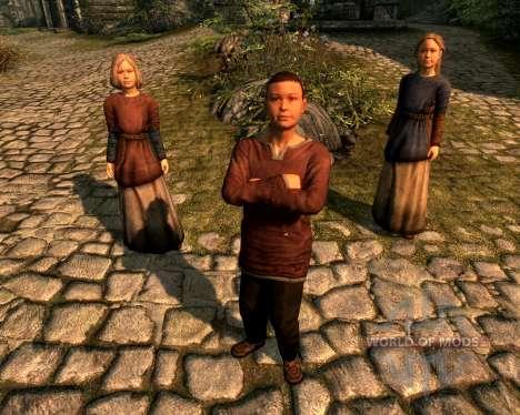 Adoption multi - adopté plus d'enfants pour Skyrim