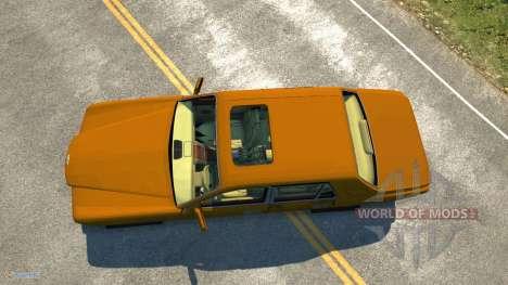 Bentley Arnage T für BeamNG Drive