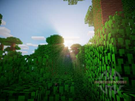 Shader chocapic V3 Ultra pour Minecraft