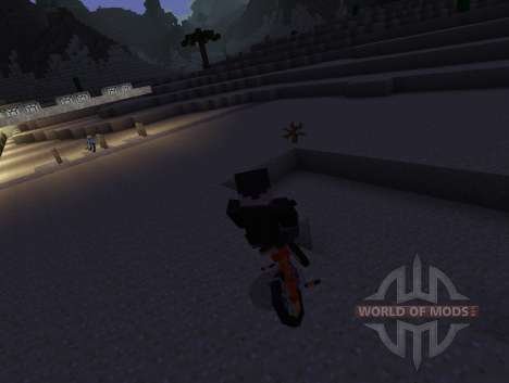 PokeCycle Mod - bikes für Minecraft