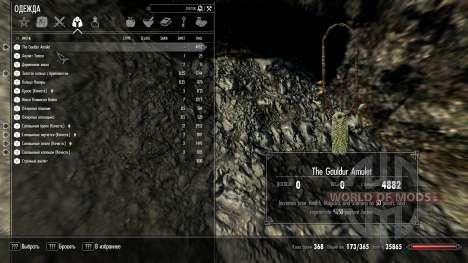 Renforcée amulette de Gauldur pour Skyrim