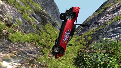 Civetta Bolide Ferrari Red für BeamNG Drive