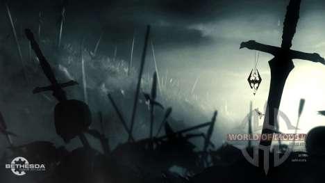 Modifié le menu principal pour Skyrim