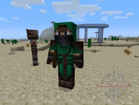 Gardes-Mod - chevaliers pour Minecraft