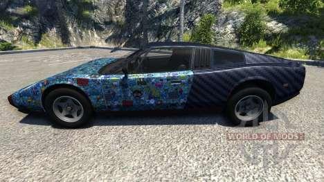 Civetta Bolide Super Blue pour BeamNG Drive