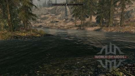 Pure eaux-mod, ce qui améliore l'eau pour Skyrim deuxième écran