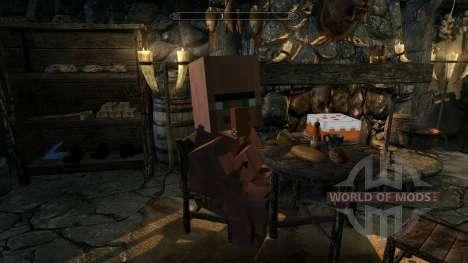 MinerFriends NPC von minecraft für Skyrim siebten Screenshot