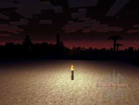 Erweiterte Dunkelheit - die Dunkelheit der Nacht für Minecraft