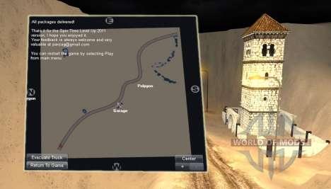 Karte-Wüste - für Spin Tires