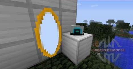 Portal Gun-Waffen vom Portal für Minecraft