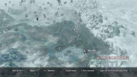 More map markers pour Skyrim