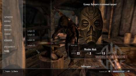 Kraft Drachen-Masken Priester für Skyrim zweiten Screenshot