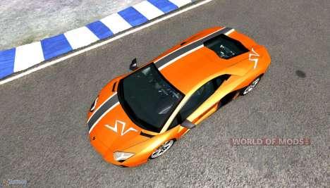 Lamborghini Aventador für BeamNG Drive