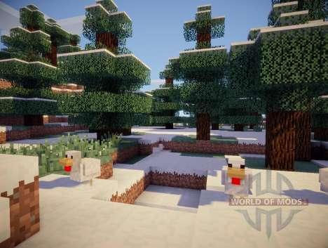 Chocapic V3 Ultra shader für Minecraft