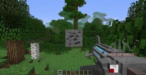 Pistolet gravité pour Minecraft