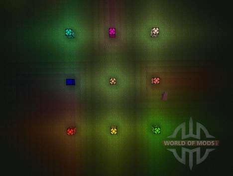 Colored lights pour Minecraft