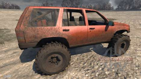 Jeep Grand Cherokee Trail pour BeamNG Drive