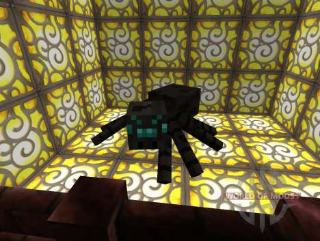 Ore Spiders Mod pour Minecraft