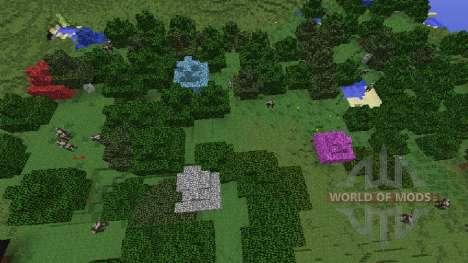 Dye Trees für Minecraft