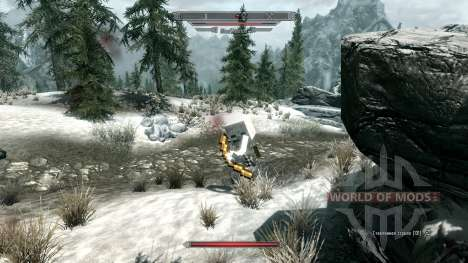 MinerFriends NPC von minecraft für das dritte Skyrim-Screenshot