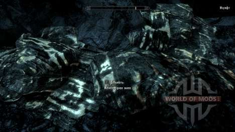Mehr bemerkbar Erz für Skyrim zweiten Screenshot
