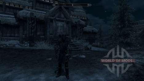 Rüstung Gelegt - Verkleidung für Skyrim zweiten Screenshot