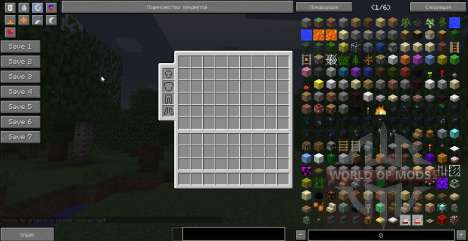 Not Enough Items pour Minecraft