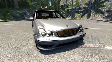 Mercedes-Benz C32 AMG pour BeamNG Drive