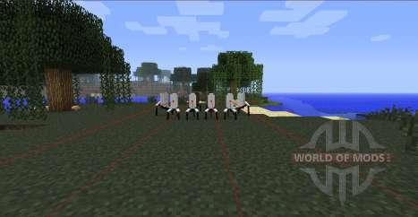 Portails Gun-canons de portail pour Minecraft