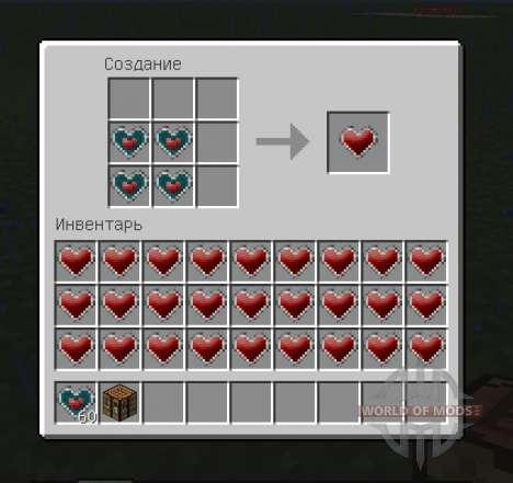 More Health Enhanced pour Minecraft