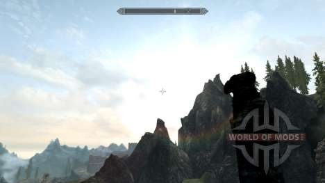 Pure Weather pour Skyrim deuxième écran