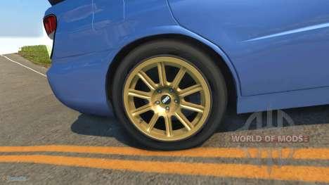 Subaru Impreza WRX STI pour BeamNG Drive