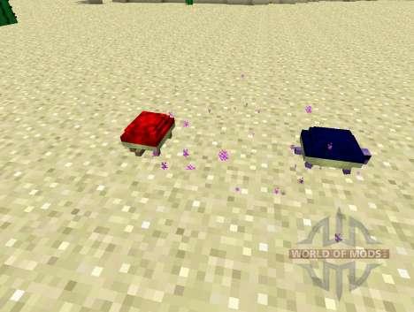 Les tortues les tortues pour Minecraft