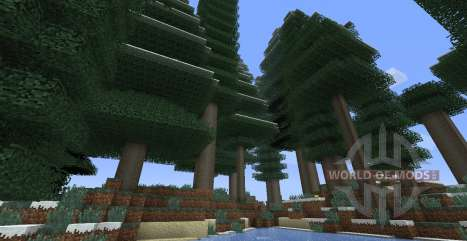 ExtraBiomesXL pour Minecraft