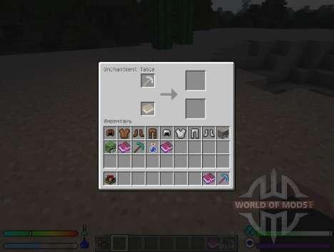 UnchantmentTable - Tabelle für den Abzug der Ver für Minecraft